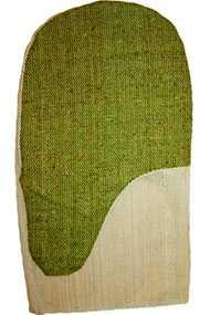 Рукавицы х/б с брезентовым наладонником размер 2