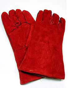 Краги спилковые (перчатки)