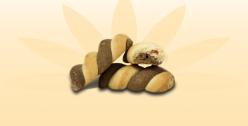 Печенье Вертушка с малиной
