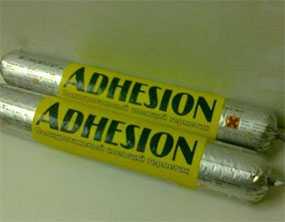 Герметик ADHESION PU25 клеящий полиуретановый (колбаса в алюминиевой фольге 600 мл )