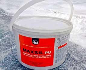 Мастика строительная уретановая MaxSil PU 2052
