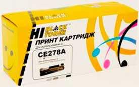 Картридж HP LJ Pro P1566/P1560/P1606dn (Hi-Black) CE278A