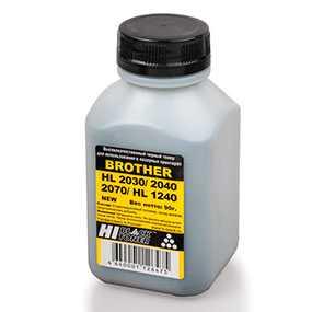 Тонер Hi-Black Toner для Brother HL 2030/ 2035/ 2040/ 2070 Тип 1.1 (банка, 140 гр.)