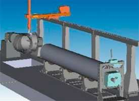 Система для плазменной резки круглых труб с последующей сваркой KIBERYS