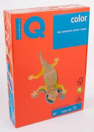 Цветная бумага IQ Color - А4 - 80 г/м2 - 500 листов