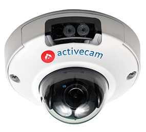 IP-камера ActiveCam AC-D4101IR1 миниатюрная купольная вандалозащищенная