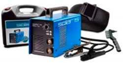 Инвертор сварочный Solaris MMA-205В + ACX (220В,10-200А) пластмассовый чемодан (SOLARIS)