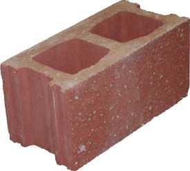 Блок декоративный рядовой БД-390*190*190