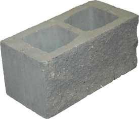Блок декоративный столбовой БД-390*190*190