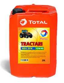 Масла моторное полусинтетическое Total Tractagri HDX SYN 10W – 40 20л