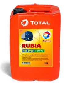 Масло моторное полусинтетическое Total RUBIA TIR 8900 10W-40 20л
