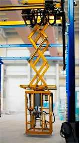 Подъёмные рабочие площадки SLF, перемещаемые на мостовых системах