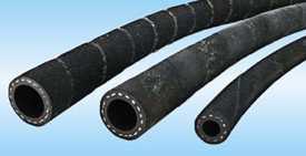Рукава резиновые напорные с нитяным усилением, неармированные ГОСТ 10362-76