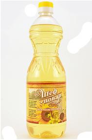 Растительное масло Шеф Повар пищевое купажированное подсолнечно-рапсовое