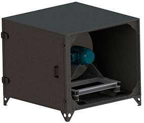 Блок вентилятора (для установки VС)