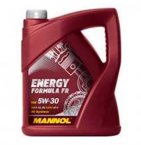 Масло моторное синтетическое MANNOL ENERGY FORMULA FR SAE 5W-30 API SL 5л