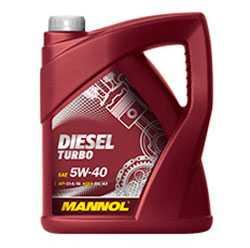 Масло моторное синтетическое MANNOL DIESEL TURBO SAE 5W-40 API CI-4/SL 5л