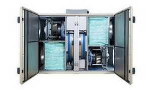 Воздухоподготовительный агрегат с высокоэффективным роторным утилизатором GOLD RX