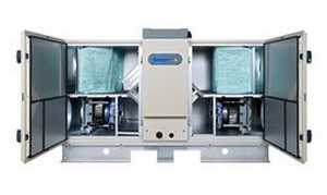 Воздухоподготовительный агрегат с пластинчатым утилизатором тепла GOLD PX