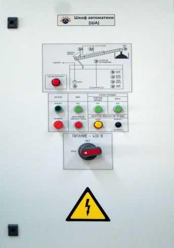 Шкафы автоматики и шкафы управления (ША, ШУ)