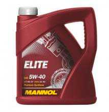 Масло моторное синтетическое MANNOL ELITE SAE 5W-40 API SM/CF 5л
