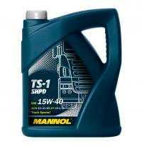 Масло моторное универсальное для грузовых автомобилей MANNOL TS-1 SHPD 15W-40 (Truck Special) 5л