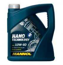Масло моторное полусинтетическое MANNOL NANO TECHNOLOGY SAE 10W-40 API SM/CF 5л