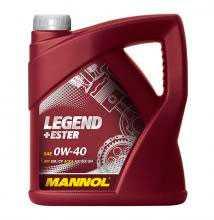 Масло моторное синтетическое MANNOL LEGEND+ESTER SAE 0W-40 API SM/CF 4л