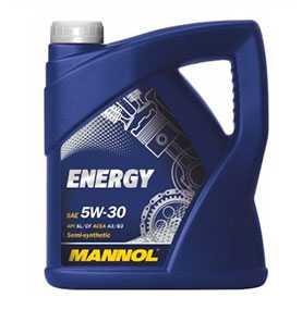 Масло моторное полусинтетическое MANNOL STAHLSYNT ENERGY SAE 5W-30 API SL/CF 1 л