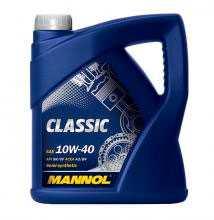 Масло моторное полусинтетическое MANNOL CLASSIC SAE 10W-40 API SM/CF 4л