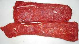 Полуфабрикат замороженный Длиннейшая мышца из говядины - НОВОФУДПЛЮС (Беларусь)
