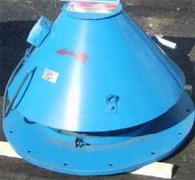 Вентиляторы радиальные крышные низкого давления типа ВКР