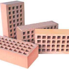 Кирпич керамический КРПО-125 рядовой пустотелый одинарный