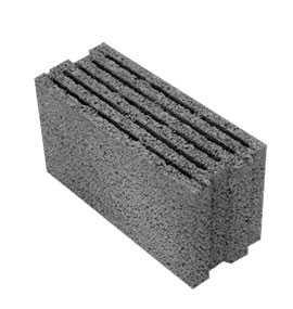 Блок керамзитобетонный строительный ТермоКомфорт 490х200х240 - ЗАВОД КЕРАМЗИТОВОГО ГРАВИЯ