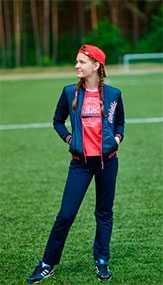 Костюм спортивный для девочки двухпредметный арт. 3029 - Соло-Пинск