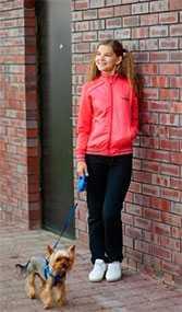 Костюм спортивный для девочки двухпредметный арт. 3045 - Соло-Пинск