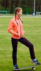 Костюм спортивный для девочки двухпредметный арт. 3038 - Соло-Пинск