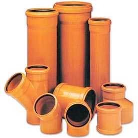 Фасонные части из ПВХ для систем наружной канализации
