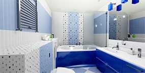 Плитка керамическая Сказка голубая