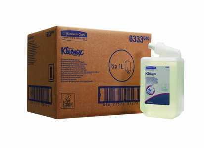 Жидкое мыло Kimberly-Clark Kleenex 6333 в кассетах для частого использования (667 доз) 1 литр