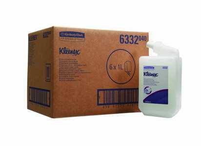Жидкое мыло Kimberly-Clark Kleenex 6332 в кассетах гель для душа и шампунь (667 доз) 1 литр