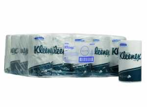 Туалетная бумага в стандартных рулонах KLEENEX Ultra, двухслойная (малая упаковка)