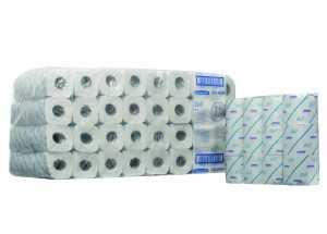 Туалетная бумага в стандартных рулонах SCOTT двухслойная (малая упаковка)