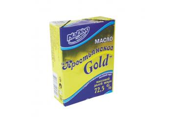 Масло сливочное Крестьянское Gold
