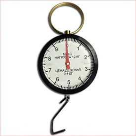 Бытовые весы (безмен пружинный) БПЦ-10-01