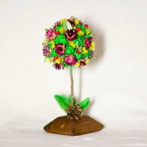 Сувенир из сухоцвета Шар
