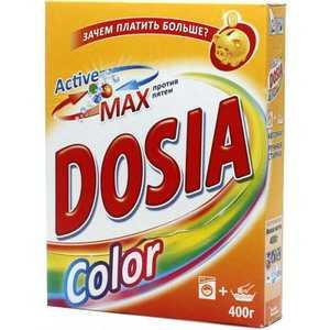 Стиральный порошок Dosia Color - Для ручной и машинной стирки - 400 г