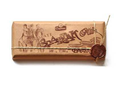 Шоколад Спартак молочный 500 гр