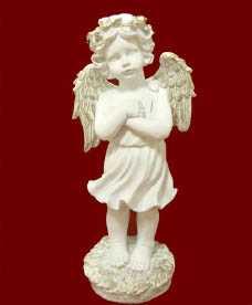 Скульптура Ангел с венком Л068
