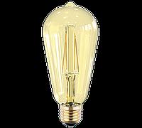 Лампа светодиодная LED-ST64-PRM 6Вт Е27 ASD